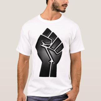 Camiseta puño del punto de ebullición