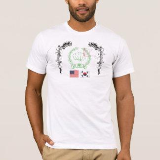 Camiseta Puño y dragones coreanos