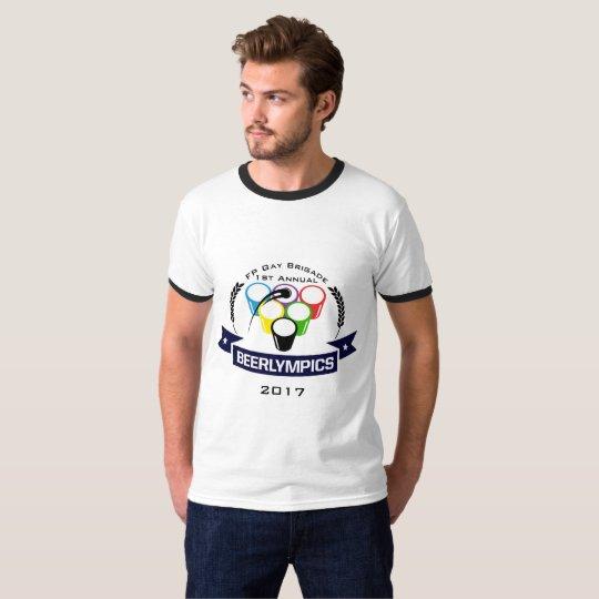 Camiseta Punto de congelación Bridage gay 1r Beerlympics