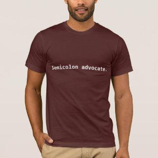 Camiseta punto y coma