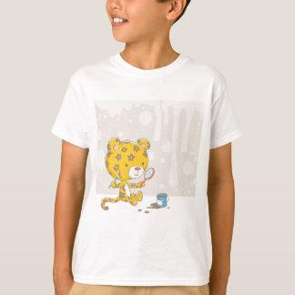 Camiseta Puntos del leopardo