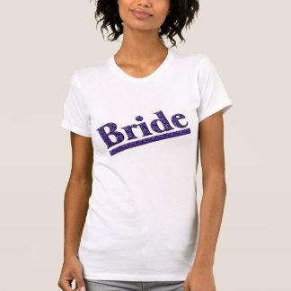 Camiseta púrpura del banquete de boda del