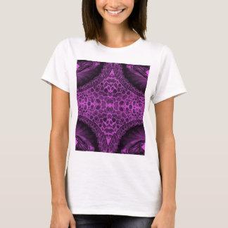 Camiseta Púrpura psicodélica
