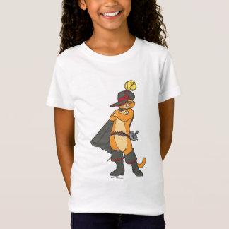 Camiseta Puss con los brazos cruzados