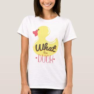 Camiseta ¿Qué el pato?