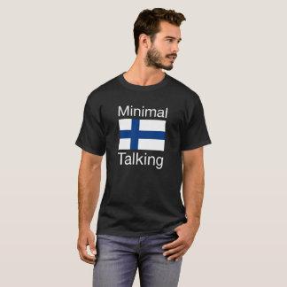 Camiseta que habla mínima de Finlandia