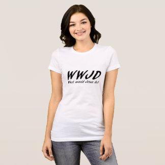 Camiseta Qué Jesús haría