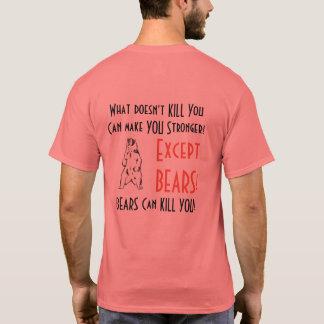 Camiseta ¡Qué NO LE MATA, puede hacerle más fuerte! Exce