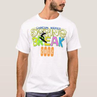 Camiseta que practica surf 2012 de Cancun de las