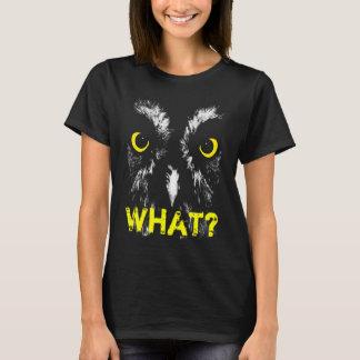 """Camiseta ¿""""QUÉ? """"Retrato del búho"""