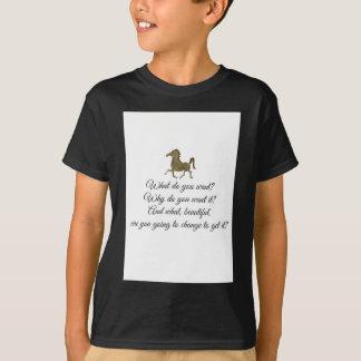 Camiseta ¿Qué usted quiere unicornio?