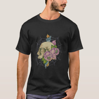 Camiseta Quema de la vela en ambos extremos