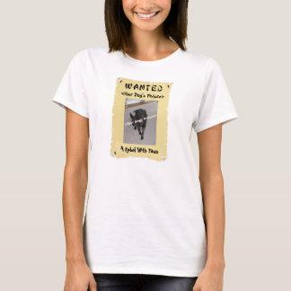 Camiseta querida del poster del amante del perro