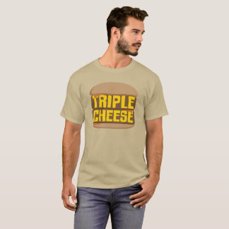 Camiseta Queso triple