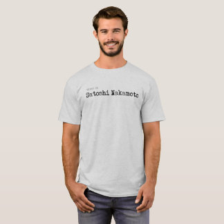 Camiseta Quién es #CrytoCurrency del #Bitcoin de Satoshi
