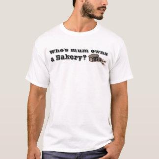Camiseta Quién es la momia posee una panadería