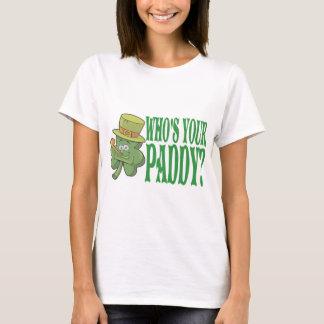 Camiseta Quién es su trébol del arroz