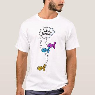 Camiseta ¿Quién Farted?