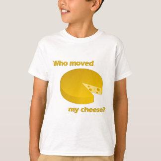 Camiseta Quién movió el queso