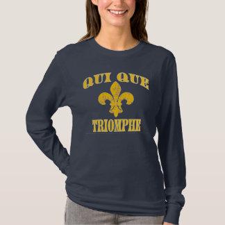 Camiseta Quién triunfan los franceses de Dat Cajun
