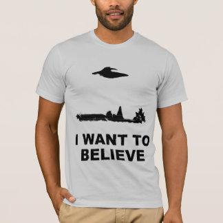 Camiseta Quiero creer