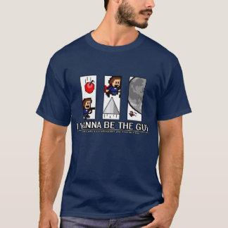 Camiseta ¡Quiero ser el individuo - los grandes enemigos!