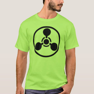 Camiseta química del peligro