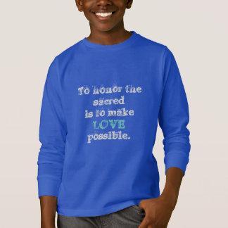 Camiseta Quintos sagrados hacen el amor posible