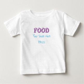 Camiseta quisquillosa del bebé