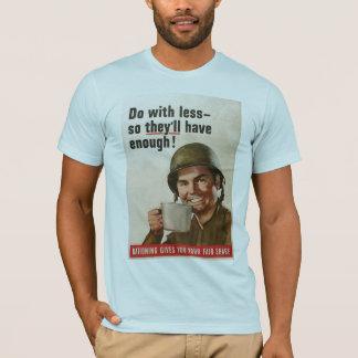 Camiseta Racionar la Segunda Guerra Mundial