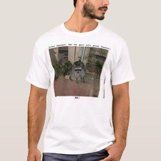 Camiseta Racoon