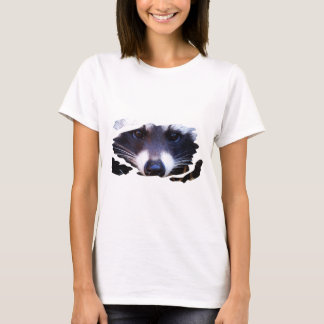 Camiseta RACOON MAPACHE - Photography Jean Louis Glineur
