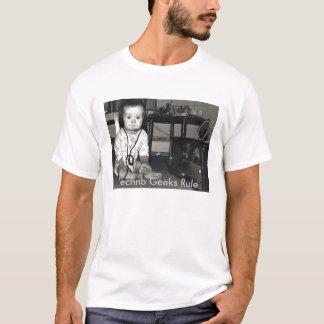 Camiseta Radio, regla de los frikis de Techno