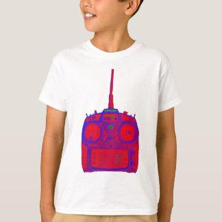 Camiseta Radio roja/púrpura del efecto negativo de Spektrum