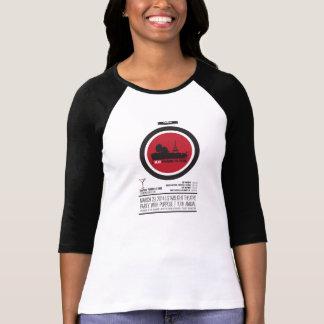 Camiseta Raglán afortunado del polluelo