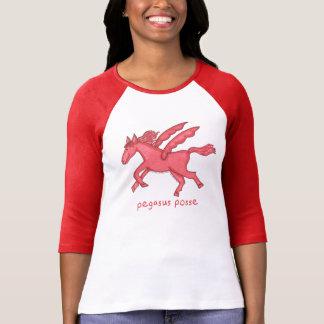 Camiseta Raglán de la manga de las mujeres de la pandilla