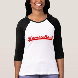 Camiseta Raglán del equipo de Homeschool