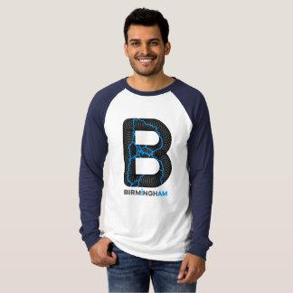 Camiseta Raglán Longsleeves de los canales de Birmingham