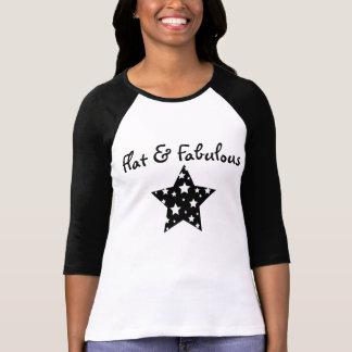 Camiseta Raglán plano y fabuloso