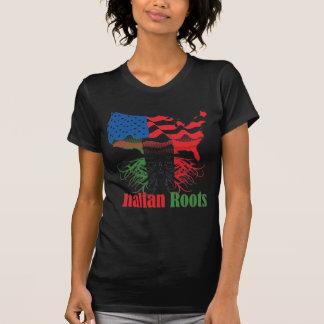 Camiseta raíces italianas