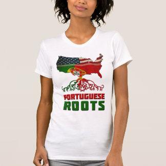 Camiseta Raíces portuguesas americanas