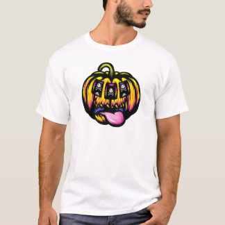 Camiseta Ranura de la calabaza