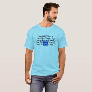 Camiseta RASGÓN: Johnny, hijo de los químicos