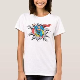 Camiseta Rasgones del superhombre a través