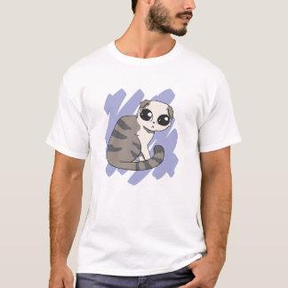 Camiseta Rasguño del doblez del escocés