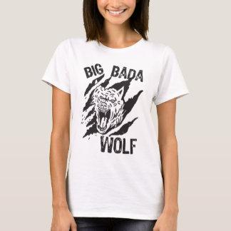 Camiseta Rasguños grandes de la pata del lobo de Bada
