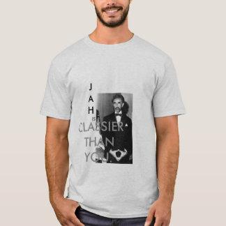 Camiseta Rastafari, ES, MÁS CON CLASE QUE USTED., JAH