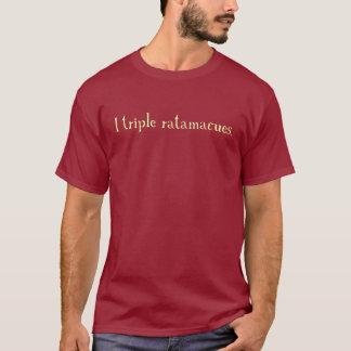 Camiseta ratamacue triple