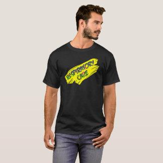 Camiseta RAYA VERTICAL RESPIRATORIA del AMARILLO del