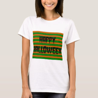 Camiseta Rayas horizontales de Halloween